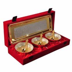 Wedding Gifts Set Brass Bowls