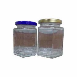 Square Shape Glass Canning Jars