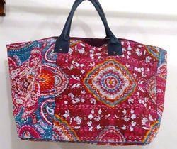 Vintage Kantha Embroidery Bag 516