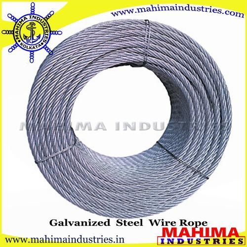 Galvanized Steel Wire Ropes | Mahima Industries | Manufacturer in ...
