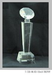 10 Inch Crystal Trophies