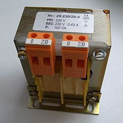 5 KVA Isolation Transformer