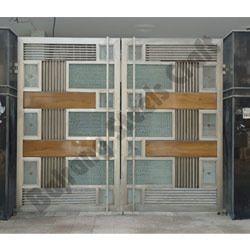 Block Design Stainless Steel Gates Bajrang Steels Crafts