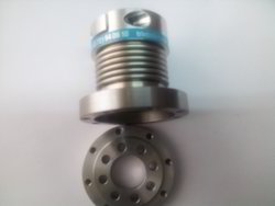 Metal Bellow Couplings With Flange Collet Combination