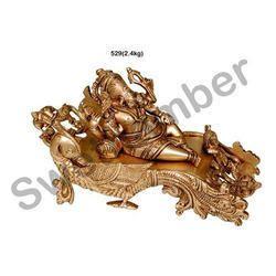 Brass Diwan Ganesha