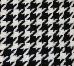 Woolen Blazer Check Fabric