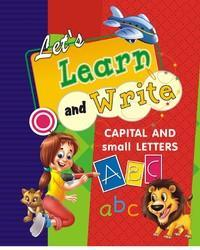 capital and small letter writing book