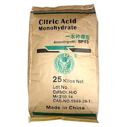 Citric Acid Monohydrate/Anhydrate