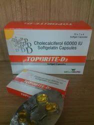 Topbrite D3  Soft Gel Capsules