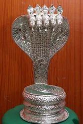 Silver Nagarbharanam For Lord Shiva