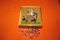 Decorative Hand Painted Jewellery Box