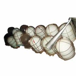 Salvaged Nautical Signal Lights