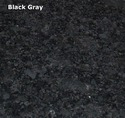Black Gray Granite