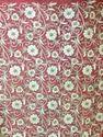 Velvet White Thread Embroidery Fabric
