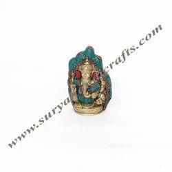 Brass Stone Budha