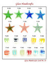 Glass Dice & Star