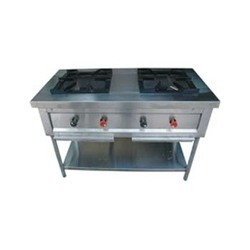 Commercial Double Burner Stove Range