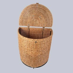 Half Round Handicraft Storage Basket