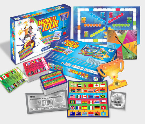 World Tour The Quiz Game Educational Game For Kids At Rs - World quiz game