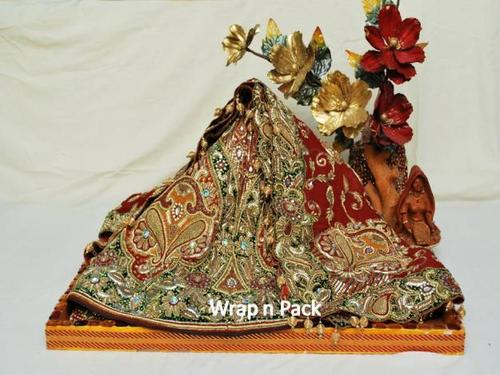 Pack Trousseau Packing View Specifications Details Of Gift Inspiration Saree Tray Decoration