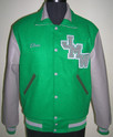 Kelly Green Varsity Jacket