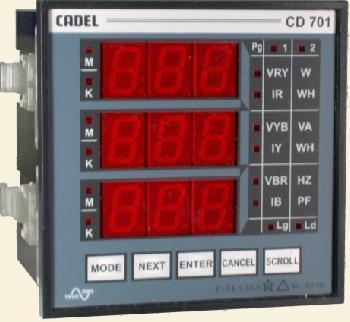 Eltrac CD 701 Multifunction Meter
