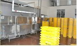 Stainless Steel Crate Washer for Industrial