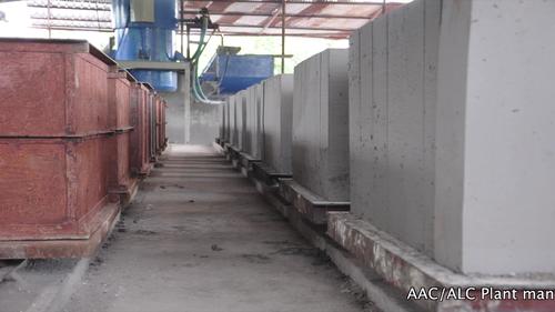 Manual Alc Block Plant Capacity 2500 3000 Per Hour Id