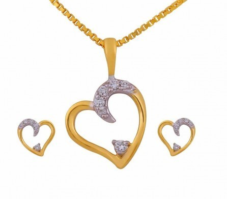 Diamond pendant set view specifications details of diamond diamond pendant set mozeypictures Choice Image