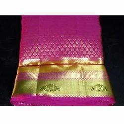 Pink Silk Designer Sarees