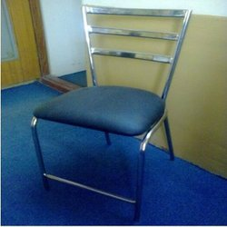 ashitesh silver Iron Chair, For Restaurant, Size: Standard
