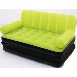 Velvet Air Sofa Cum Bed