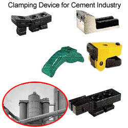 Clamping Device for Cement Industry