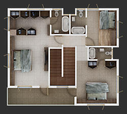 3D Floor Plan Rendering Services