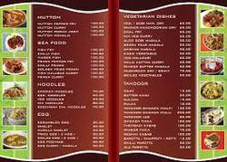 Hotel Menu Card Printing Service