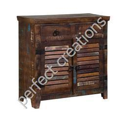 Recycled Wood Drawer Chest