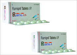 2.5mg, 5mg Ramipril Tablet, Packaging Size: 10 X 10 Tablets, Packaging Type: Strips