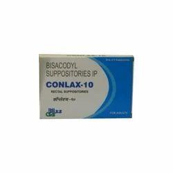 Bisacodyl Suppositories IP 10 mg