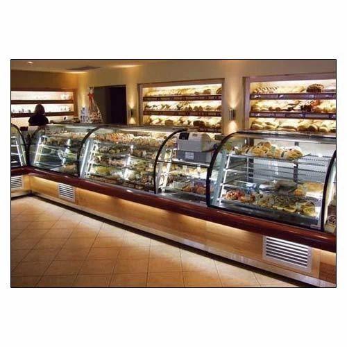 Bakery Display Unit Box Model Glass Bakery Display