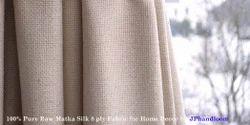 Pure Matka Silk Fabric 8 Ply