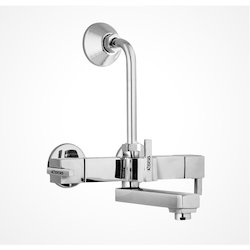 Wall Mixer Tel with L Bend Squaris
