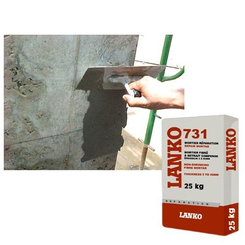 Concrete Repairs - Lanko 731 Repair Mortar Manufacturer from