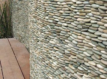 Pebble Stone Cladding Stone Wall Cladding Kodathi