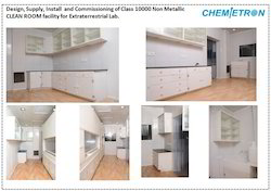 Clean Room Laboratories Acid Storage Cabinet