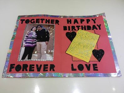 Crafty Birthday Cards ~ Handmade birthday card view specifications & details of birthday