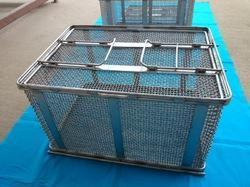 Stainless Steel Wire Mesh Baskets
