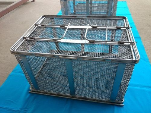 Stainless Steel Wire Mesh Baskets at Rs 1500 /piece | Stainless ...