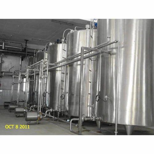 Milk Tank Milk Storage Tank Manufacturer From Noida