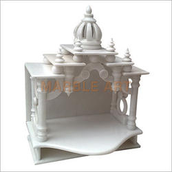 White Marble Temple Home Decoration, Rs 18500 /unit, Akshar Moorti Art |  ID: 4925206062