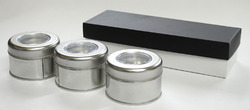 Fragrance Tin Candle Set Box